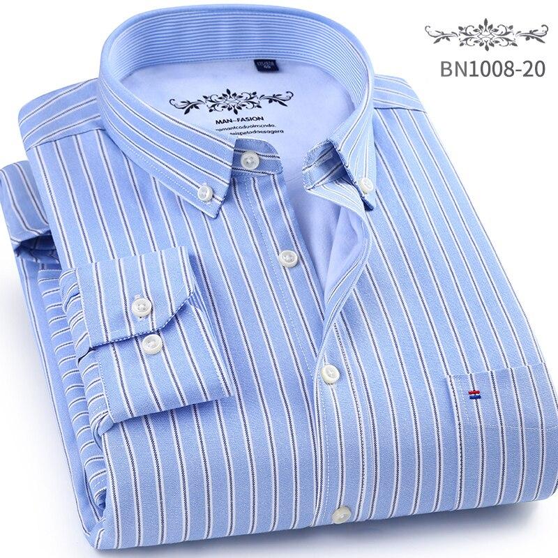 c008f564cbc Brand Autumn Winter Casual Shirt Men Warm Mens Dress Shirts Thick Male  Formal Shirts Plus Size Long sleeve ...