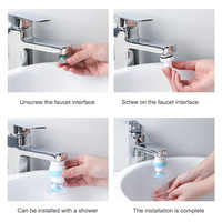 Plastic Shower Faucet Splash Head Adapter Universal Universal Kitchen Basin Multi-Function Adapter Fittings Water Filter Adapter