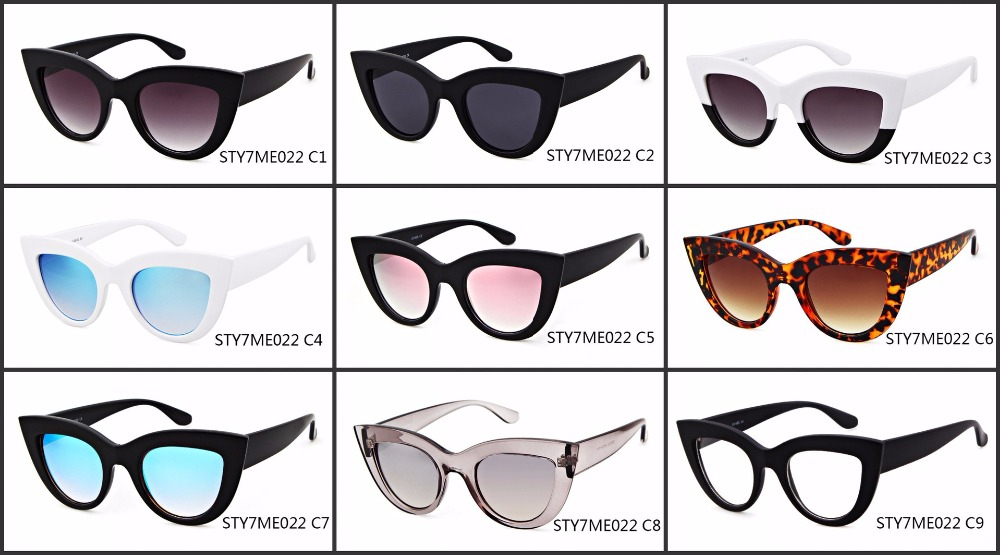 Retro Cat Eye Sunglasses Lady