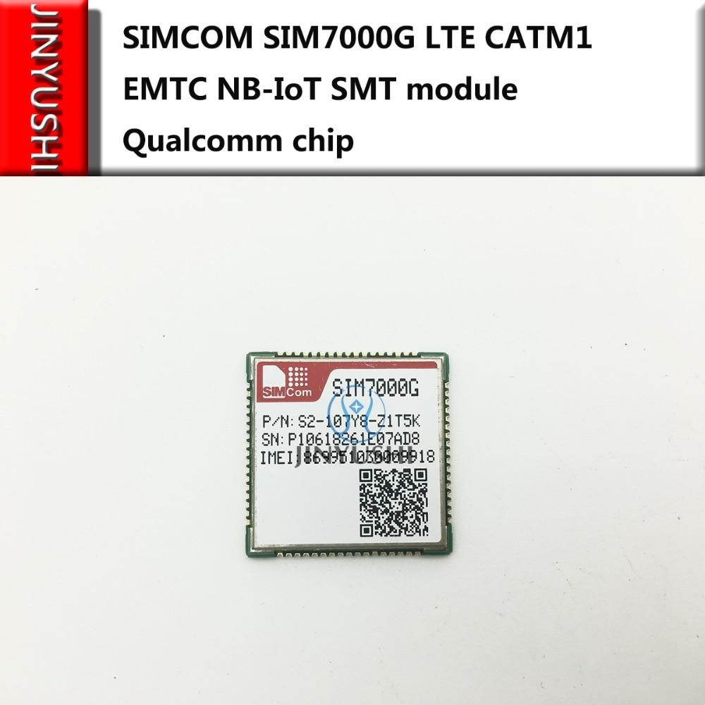 SIMCOM SIM7000G Global Band Of SIM7000A SIM7000E SIM7000C  LTE CATM1 EMTC NB-IoT SMT Module Qualcomm Chip