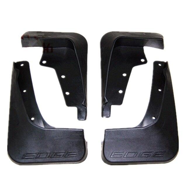 For Ford EDGE 2015 Black Wheel Fender Flares Scratch Protector Moulding Trim Cover 4pcs Per Set
