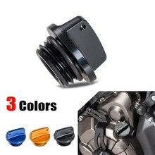 NICECNC Motorcycles Oil Filler Cap Plug For Yamaha R1 R3 R6 FZ1 FZ6 R FZ07 FZ8