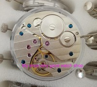 parnis 17 jewels mechanical 6497 hand winding Movements fit for Men's watch jx01a