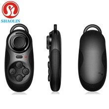 SHAOLIN Беспроводная Связь Bluetooth Геймпад Мини-Джойстик Игровой Контроллер Selfie Пульт Дистанционного Спуска Затвора Беспроводной Мыши Для iPhone IOS Android