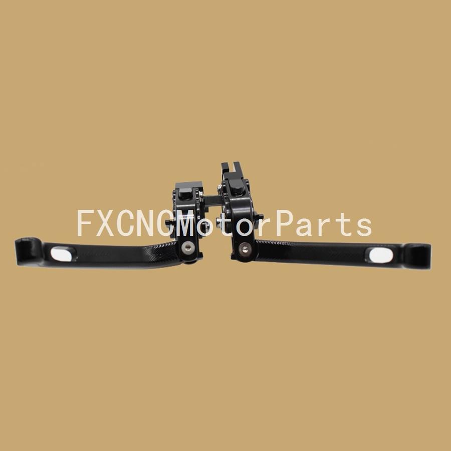 ФОТО For Honda CBR 600 F2 F3 F4 F4i 91-07 CB919 02-07 Motorcycle CNC 3D Adjustable Folding Brake Clutch Levers Black