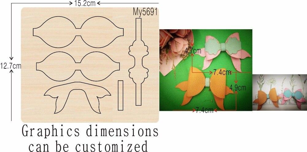 Gele boog nieuwe houten schimmel stansmessen voor scrapbooking Thickness 15.8mm-in Stansvormen van Huis & Tuin op  Groep 1