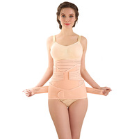 ZTOV 3 Pieces/Set Pregnancy Postnatal bandage Maternity Belt Underwear Intimates Postpartum Belly Band for Pregnant Women XXL