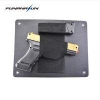 Conceal Holster Stealth Under Desk Chair Pistol Holster Truck Handgun Safe Secret Door Hiding Holster Beside Bed Gun Pouch
