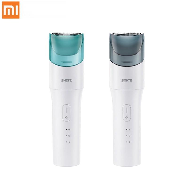 Xiaomi SMATE bébé électrique tondeuse à cheveux USB imperméable coupe de cheveux Rechargeable Ultra-silencieux automatique tondeuse à cheveux pour enfant