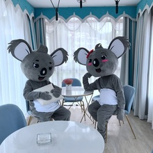 Animal Koala Mascot Costume Cartoon Character Performance Clothing Mascot Costume for Halloween Carnival Birthday Party Dress mascot adult costume hot cartoon character pink panther mascot costume leopard fancy carnival for school
