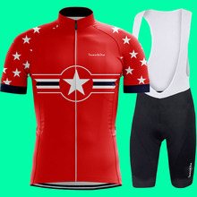 Uniformes ciclismo RUNCHITA 2019 ummer Bicycle Clothing Cycling Set Maillot Conjunto Ropa Ciclismo ropa hombre verano