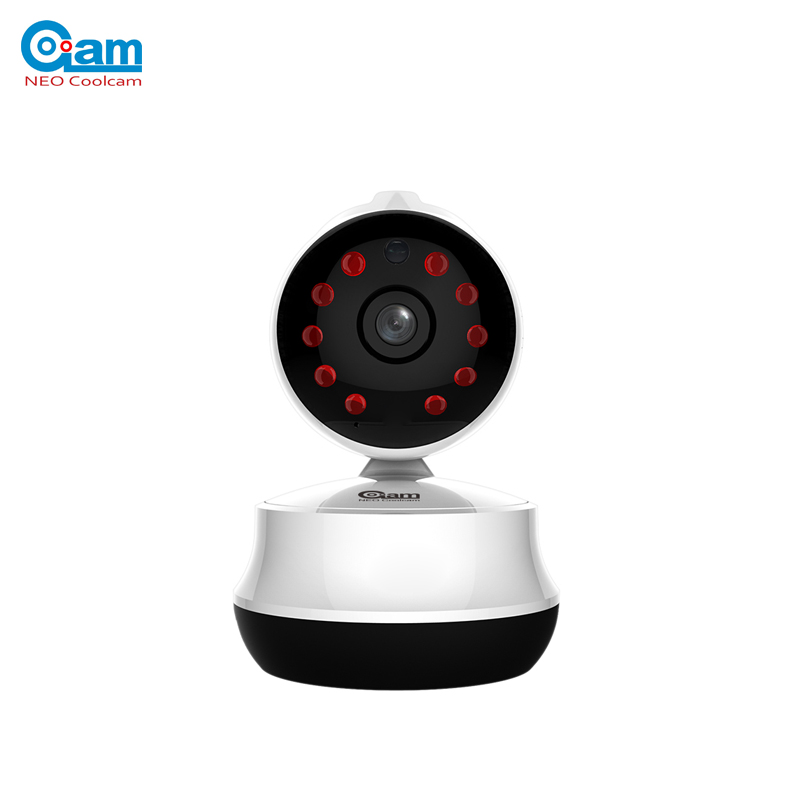 NEO COOLCAM NIP-61GE HD 720P IP Camera P2P Wifi Wireless Baby Monitor Security Camera with Night Vision Micro SD Card slot 720p hd wifi camera p2p wireless baby monitor security camera cloud storage night vision camera compatible with sensor detector