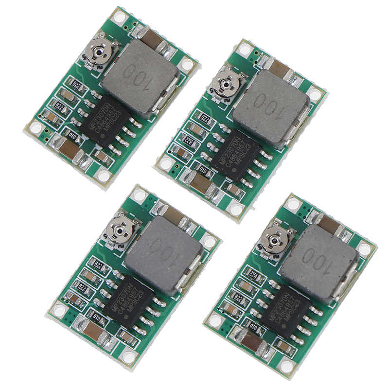4Pcs MP2307 MINI360 3A DC-DC Step Down Power Supply Modul Konverter