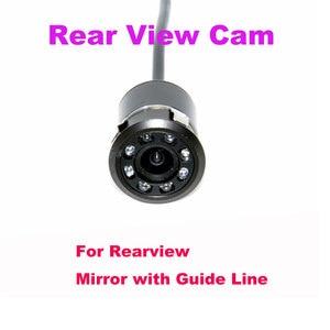 Image 3 - Ccd 8 led ccd車のバックミラーカメラナイト 170 広角車のリアビューreverseバックアップカメラ