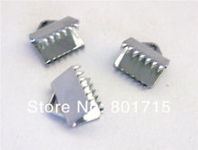wholesale 50pcs End Clasp Internal Dia 8mm Fit 8mm band DIY Charms Fittings Accessory as gift