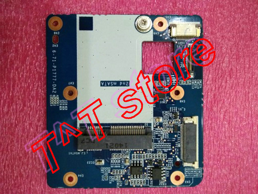 все цены на original P177SM P177SM-A mSATA board 6-71-P1777-DA2 test good free shipping