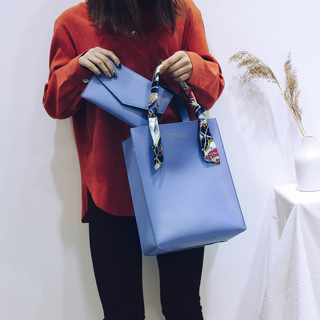 Luxury Leather Women Bag Set Handbags Women Famous Brands Shoulder Bags Female High Quality Designer Casual Tote Crossbody Bag