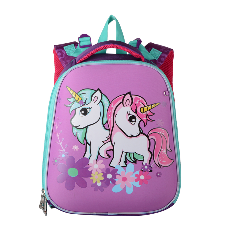 15 Inch New Backpack School Boy Girl Orthopedic Waterproof Backpacks Satchel Cartoon Children School Bags