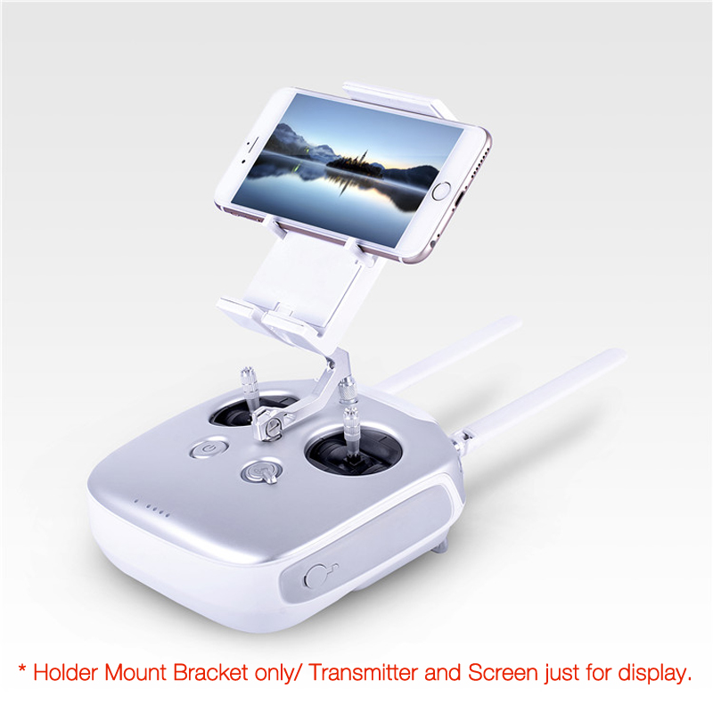 Phone Tablet  Screen Holder Mount Bracket For Phantom/Inspire/Flysky I6S FPV Quadcopter велотренажер inspire ic1