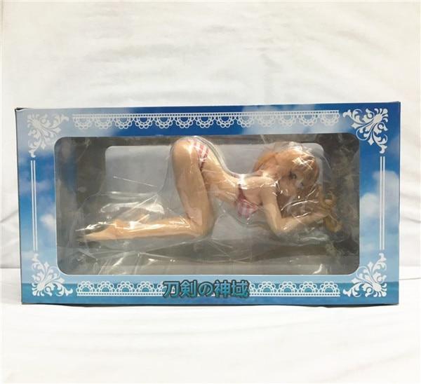 Аниме фигурка Асуна в купальнике Мастер меча онлайн ПВХ
