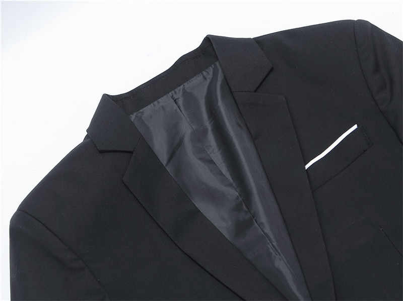 FGKKS новый мужской блейзер, куртка, осенний мужской костюм, Блейзер, модный тонкий мужской костюм, повседневный Однотонный мужской блейзер