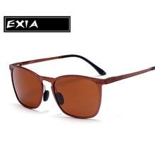 Polarized Brown Lenses UVA Sunglasses Men Brand High Quality EXIA OPTICAL KD-0719 Series