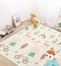 New XPE Baby Crawling Mat 180*150cm Thick 2CM Children Foam Game Pad Environmental Protection Custom Real High Quality