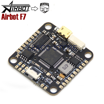 Airbot F7 AIO flight controller fully integrated BetaFlight OSD support 3-6S direct LiPo input for quadcopter drone frame leaco new upgraded speedybee f4 aio v2 flight controller ble module integrated betaflight osd flight control with 16mb blackbox