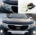 For Kia Sorento 2011 2012 2013 Excellent angel eyes Ultra bright illumination CCFL Angel Eyes kit Halo Ring