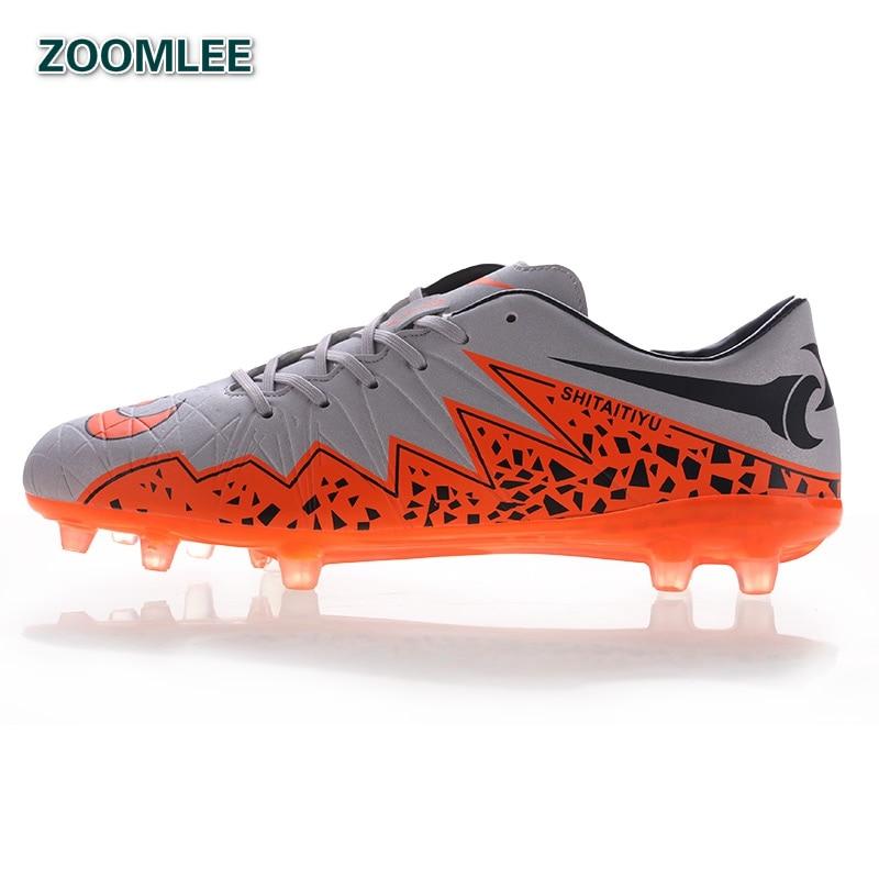 Outdoor Soccer Shoes 2016 For Men Women Soccer Cleats SG HG Football Shoes  Boots Brand Original Boys Girls Man Training Unisex 3c347a2c66