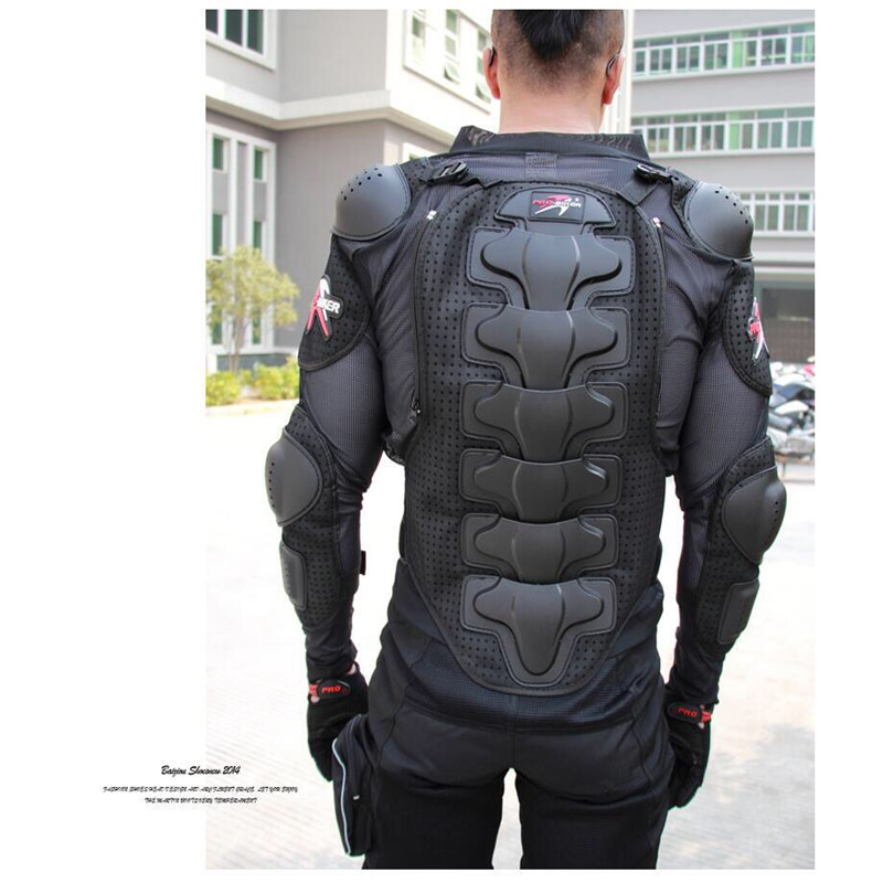 Image 3 - Motorcycle Jacket Armor Winter Jacket Men Shatter Resistant Racing Full Body Protector Polyester Outdoor Riding Gear Clothing-in Armor from Automobiles & Motorcycles