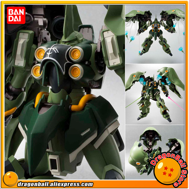Japan Anime Mobile Suit Gundam Unicorn Original BANDAI Tamashii Nations Robot Spirits No.157 Action Figure - Kshatriya