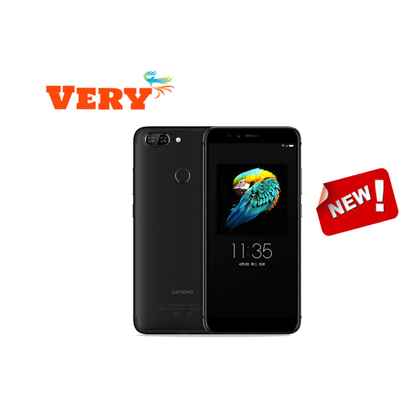 NEW Lenovo S5 Support Watch 9 Snapdragon 625(MSM8953) Octa-Core 2.0Ghz ZUI3.7 3+32GB 3000mAh Rear13MP+13MP Face-ID Smart Phone