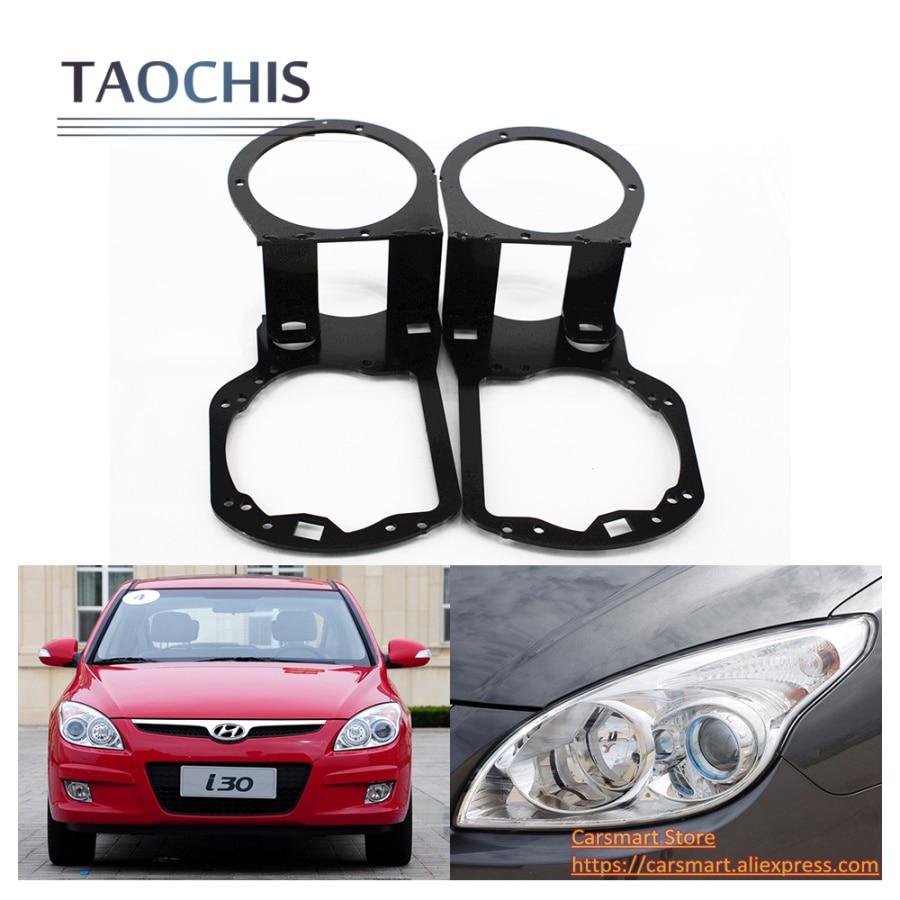 TAOCHIS adapter rahmen Kopf Lampe Übergang Halterung für Hyundai I30 ...