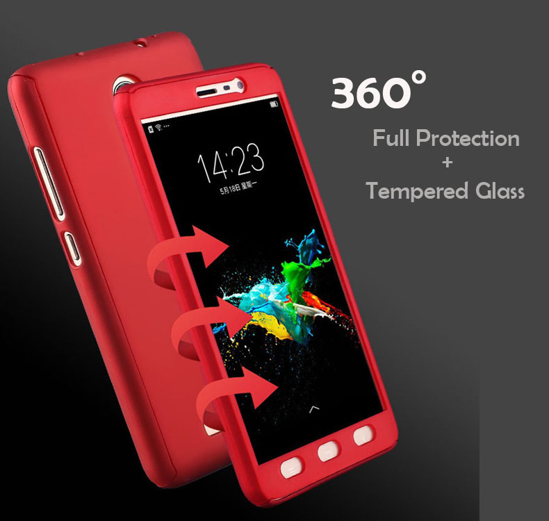 low priced 28521 a346a US $4.99 |360 Full Body Protection Case For Xiaomi Redmi Note 4 4x Coque  Hybrid Phone Cover For Xiomi Redmi Note4 pro With Tempered Glass-in Fitted  ...