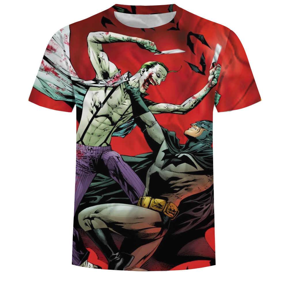 Компрессионная рубашка Бэтмен против Супермена 3D принт футболка мужская реглан короткий рукав супер герой компрессионная рубашка для фитнеса Топ
