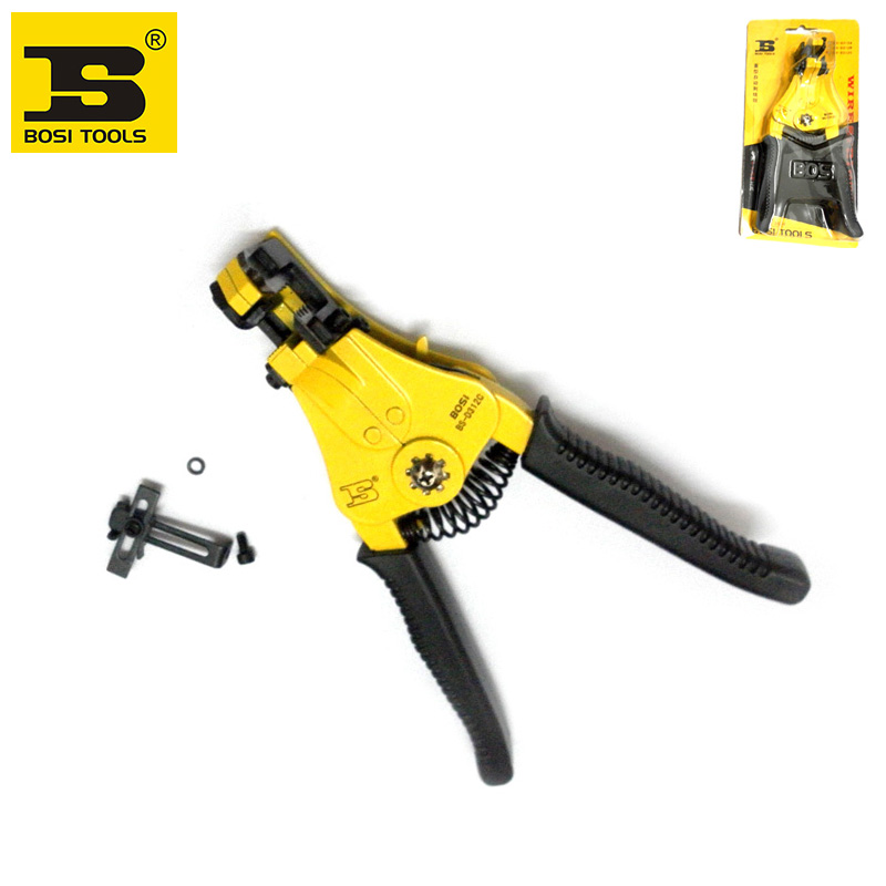 Werkzeuge Handwerkzeuge Liberal Großhandel Bosi 1,25-8.0mm2 Abisolierzange Kabel Strippen Werkzeug