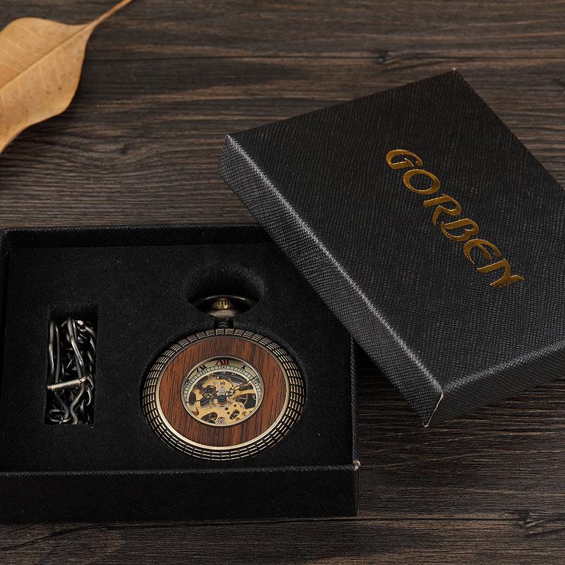 vintage Antigo Relógio de Bolso Mecânico Retro