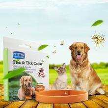 Anti Flea Ticks Dog Collar Natural Essential Oil Herbal Repellent Soft Rubber Adjustable  Mosquito Mite
