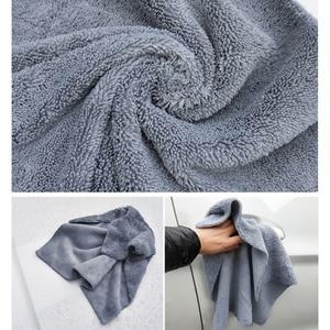 Image 4 - Paño de microfibra sin bordes para pulir, 40x40cm, 380g/m², toalla profesional sin bordes para pulir, pulir y lavar el coche, 1 ud.