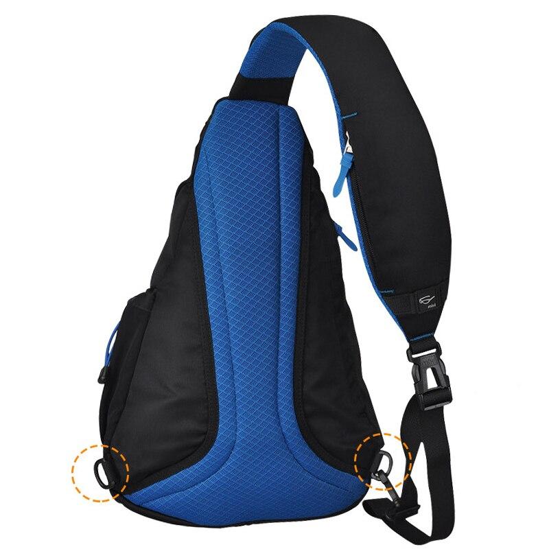 Image 2 - Mixi 2020 Fashion Backpack for Men One Shoulder Chest Bag Male Messenger Boys College School Bag Travel Causal Black 17 19 inchBackpacks   -