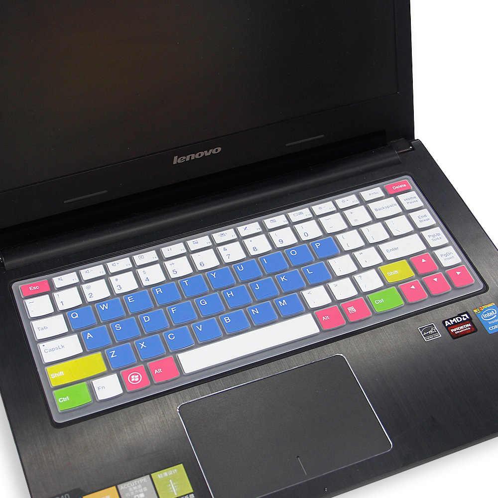 سيليكون لوحة المفاتيح غطاء حامي الجلد لينوفو Yoga13 اليوغا 2 برو 13 M40-70 Yoga3 14 I1000 M490S B490S Z400 S40-70 14 بوصة