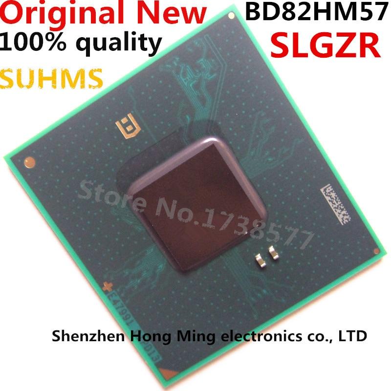 100% New BD82HM57 SLGZR BGA Chipset