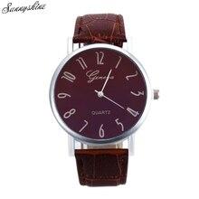 Unisex Vogue Watches Band Analog Quartz Ladies Males Clock Enterprise Wrist Watch wholesale z