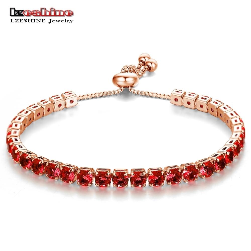 Tennis Charm Bracelet: Aliexpress.com : Buy LZESHINE Fashion Adjustable Tennis