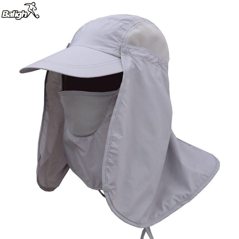 Balight Outdoor-Sport Wandern Camping Visier Hut UV Schutz Gesicht Hals Abdeckung Angeln Sun Protcet Kappe Frauen Zubehör