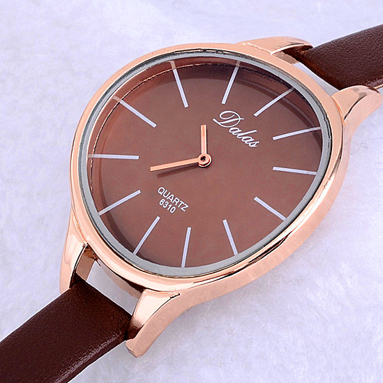 Women Wristwatch New Design Fashion Quartz Casual Hight Quality Leather Watch Brief Hot Sale Female Ladies Round Dial Watches