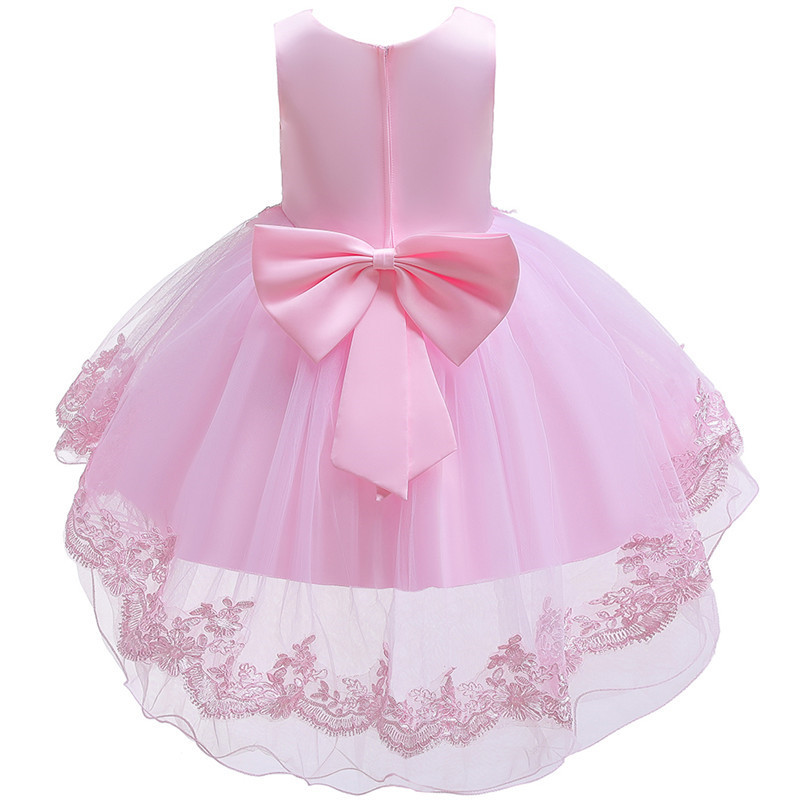 HTB1GHRPeWSs3KVjSZPiq6AsiVXaQ - Kids Princess Dresses For Girls Clothing Flower Party Girls Dress Elegant Wedding Dress For Girl Clothes 3 4 6 8 10 12 14 Years