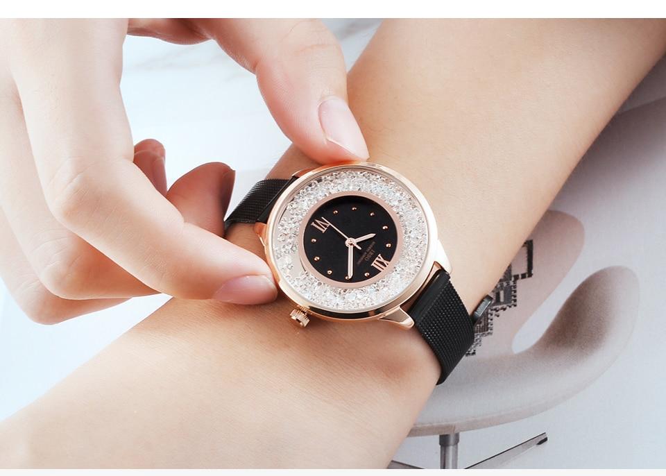 IBSO Brand Women Fashion Watch 2018 Mesh Strap Watch Female Watch 10