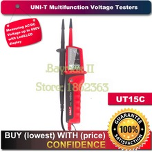 Uni-t UT15C Водонепроницаемый VoltStick Цифровой ЖК-Тестер Напряжения